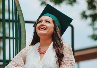 Student Speech during her graduation